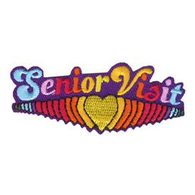 S-4218 Senior Visit Patch