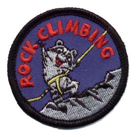 S-0334 Rock Climbing - Raccoon Patch