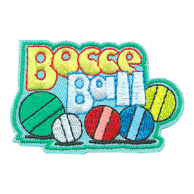 S-4223 Bocce Ball Patch