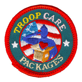 S-4227 Troop Care Packages Patch