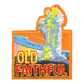S-4228 Old Faithful Patch