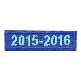 S-4237 2015-2016 Blue Year Bar