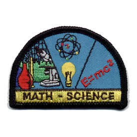 S-0338 Math & Science Patch