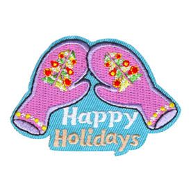 S-4248 Happy Holidays Patch