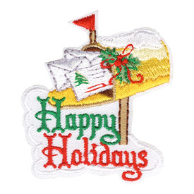 S-4251 Happy Holidays Patch