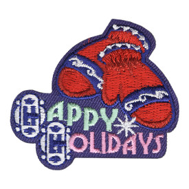 S-4255 Happy Holidays Patch