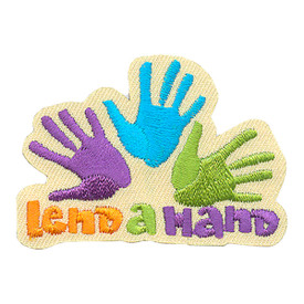 S-4256 Lend A Hand Patch