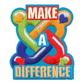 S-4260 Make A Difference Patch