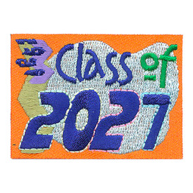 S-4264 Class Of 2027 Patch