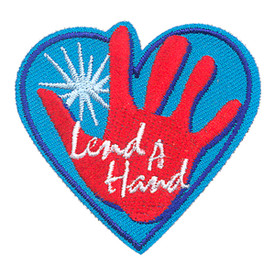 S-4267 Lend A Hand Patch