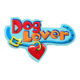 S-4271 Dog Lover Patch
