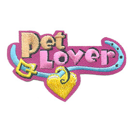S-4272 Pet Lover Patch