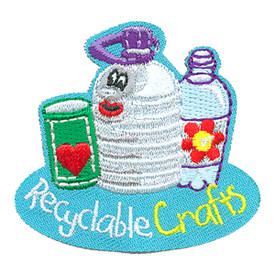 S-4274 Recyclable Crafts Patch