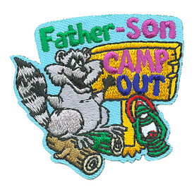 S-4276 Father-Son Camp Out Patch