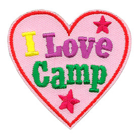 S-4278 I Love Camp Patch