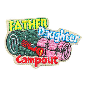 S-4279 Father Daughter Campout Patch