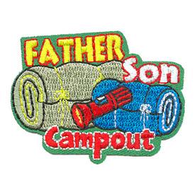 S-4281 Father Son Campout Patch