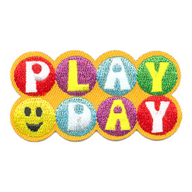S-4284 Play Day Patch
