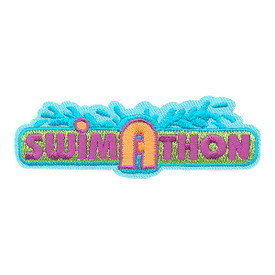S-4291 Swim A Thon Patch