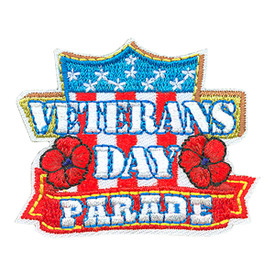 S-4296 Veterans Day Parade Patch