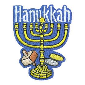S-4299 Hanukkah Patch