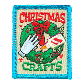S-4303 Christmas Crafts Patch