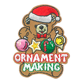 S-4304 Ornament Making Patch