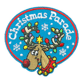 S-4305 Christmas Parade Patch