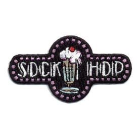 S-0344 Sock Hop Patch