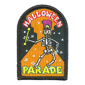 S-4308 Halloween Parade Patch