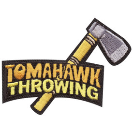 S-4313 Tomahawk Throwing Patch