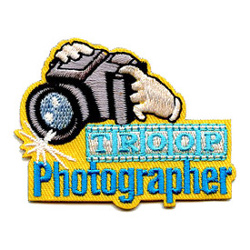 S-4316 Troop Photographer Patch
