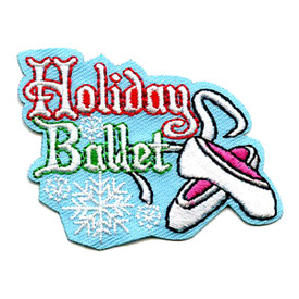 S-4317 Holiday Ballet Patch