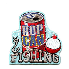 S-4322 Pop Can Fishing Patch