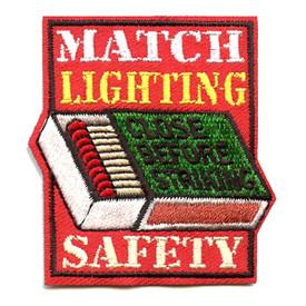 S-4325 Match Lighting Safety Patch