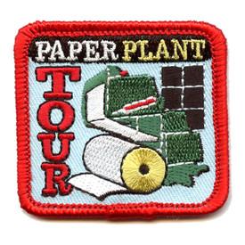 S-4327 Paper Plant Tour Patch