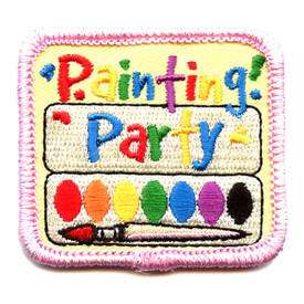 S-4328 Painting Party Patch