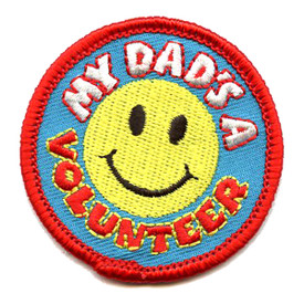 S-4329 My Dad's A Volunteer Patch