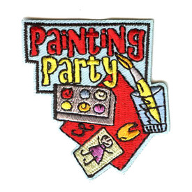 S-4335 Painting Party Patch