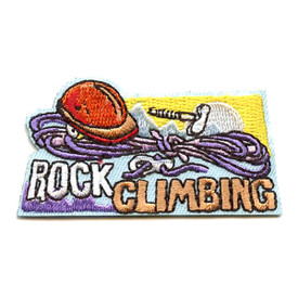 S-4343 Rock Climbing Patch