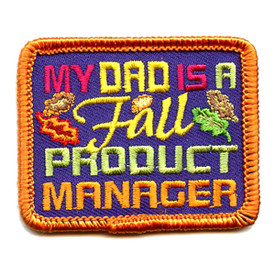 S-4345 My Dad Is A Fall Product Patch