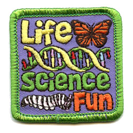 S-4347 Life Science Fun Patch