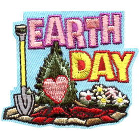 S-4353 Earth Day Patch