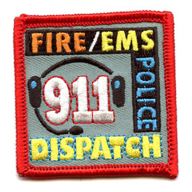 S-4355 911 Dispatch Patch
