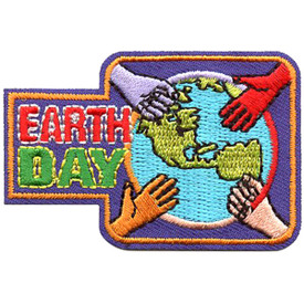S-4359 Earth Day Patch