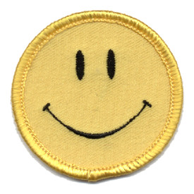 S-0354 Smiley Face Patch
