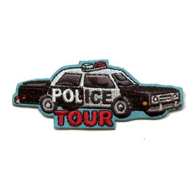 S-4365 Police Tour Patch