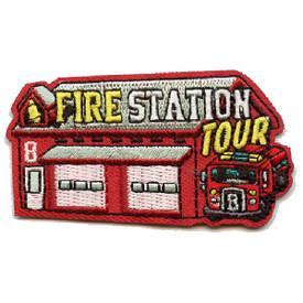 S-4367 Fire Station Tour Patch