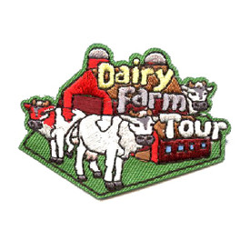 S-4369 Dairy Farm Tour Patch