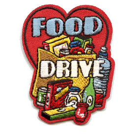 S-4372 Food Drive Patch